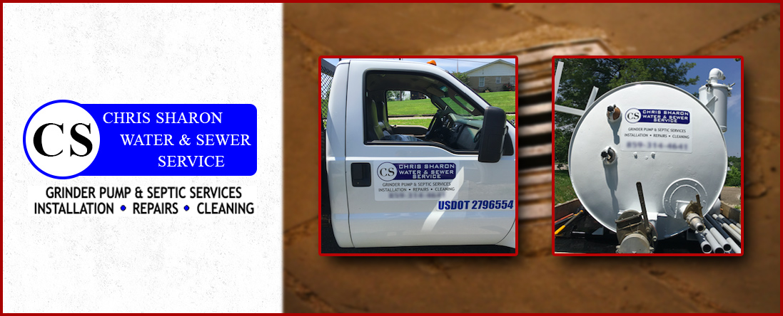 Chris Sharon Water and Sewer Service is a Plumbing Company in Richmond, KY